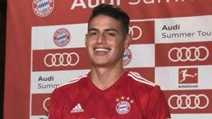 James Rodriguez Bayern Munich 28072018