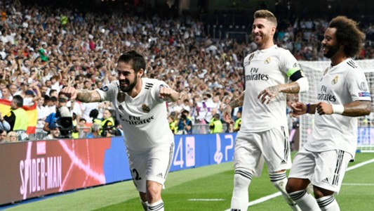 Isco Real Madrid Champions League AS Rom 19092018