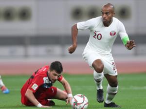 علي عفيف - منتخب قطر
