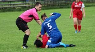 women football fight - bosnia 2017