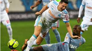Djibril Sidibe Florian Thauvin Marseille Monaco Ligue 1 28112018