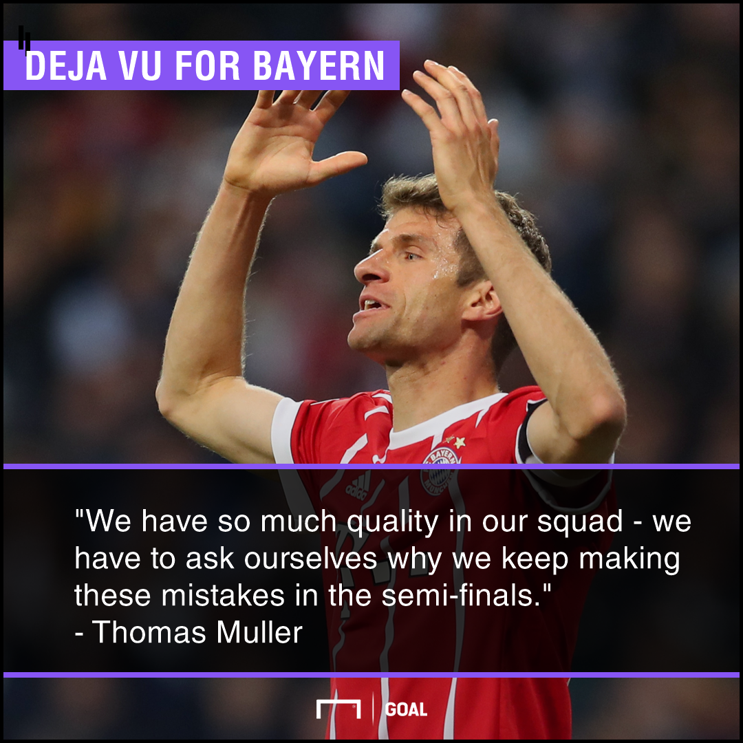 Muller on semi-final losses