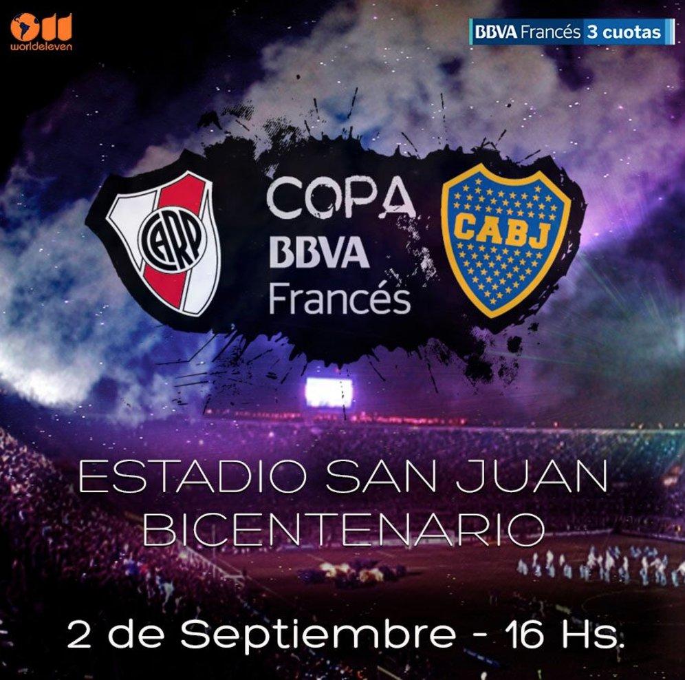 Boca River San Juan evento