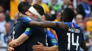 France Celebrating 2018 World Cup