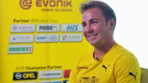 Mario Götze BVB borussia Dortmund exklusiv