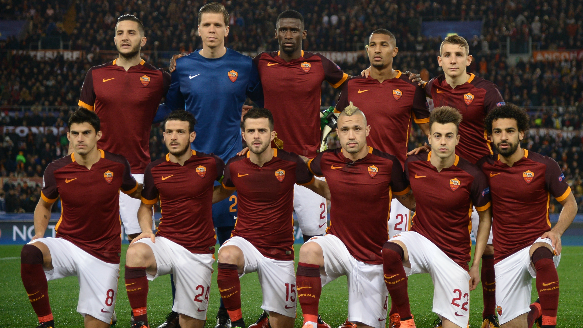 Roma lineup against Real Madrid in Champions League 2015-16