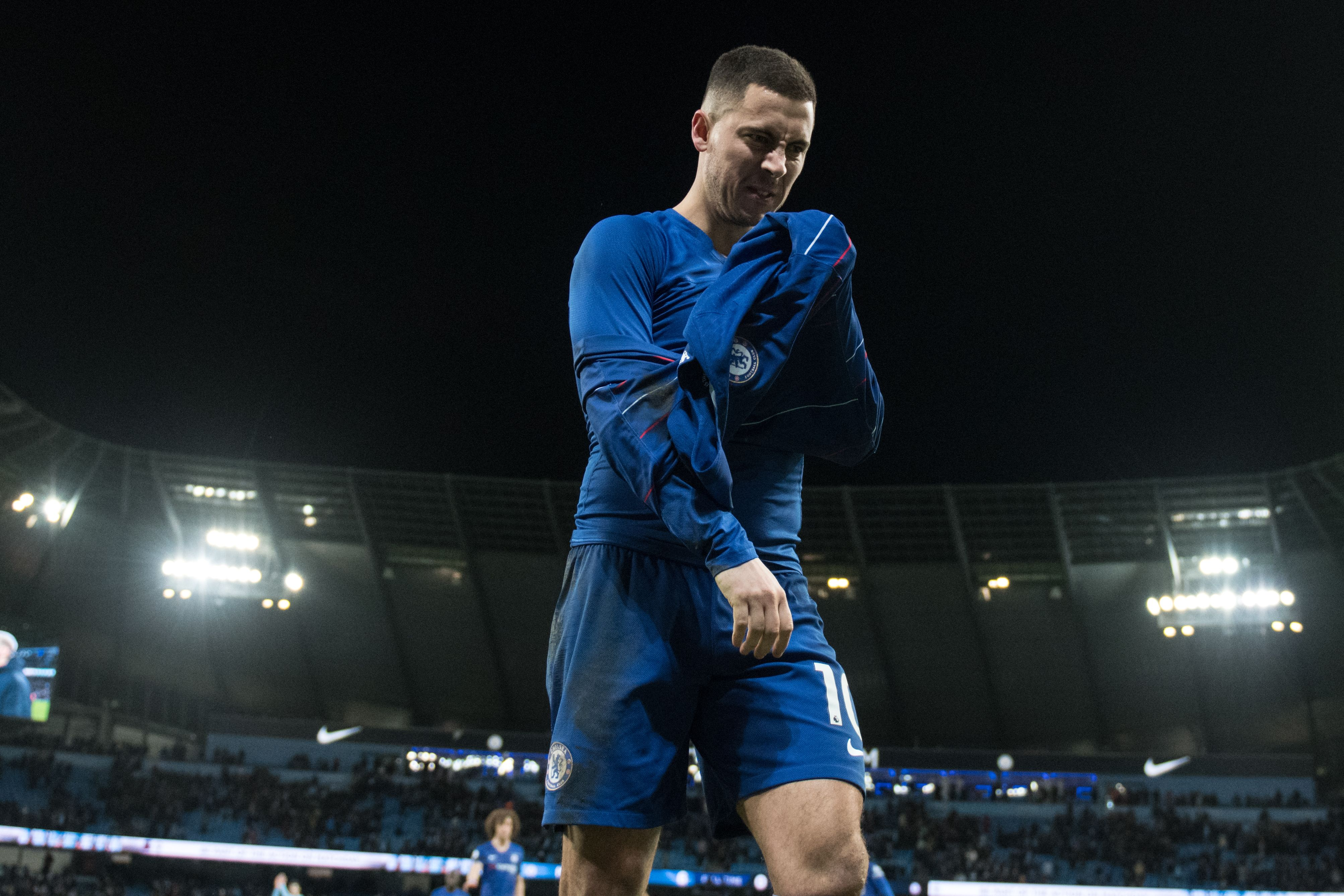 Eden Hazard Manchester City Chelsea Premier League 02/10/19