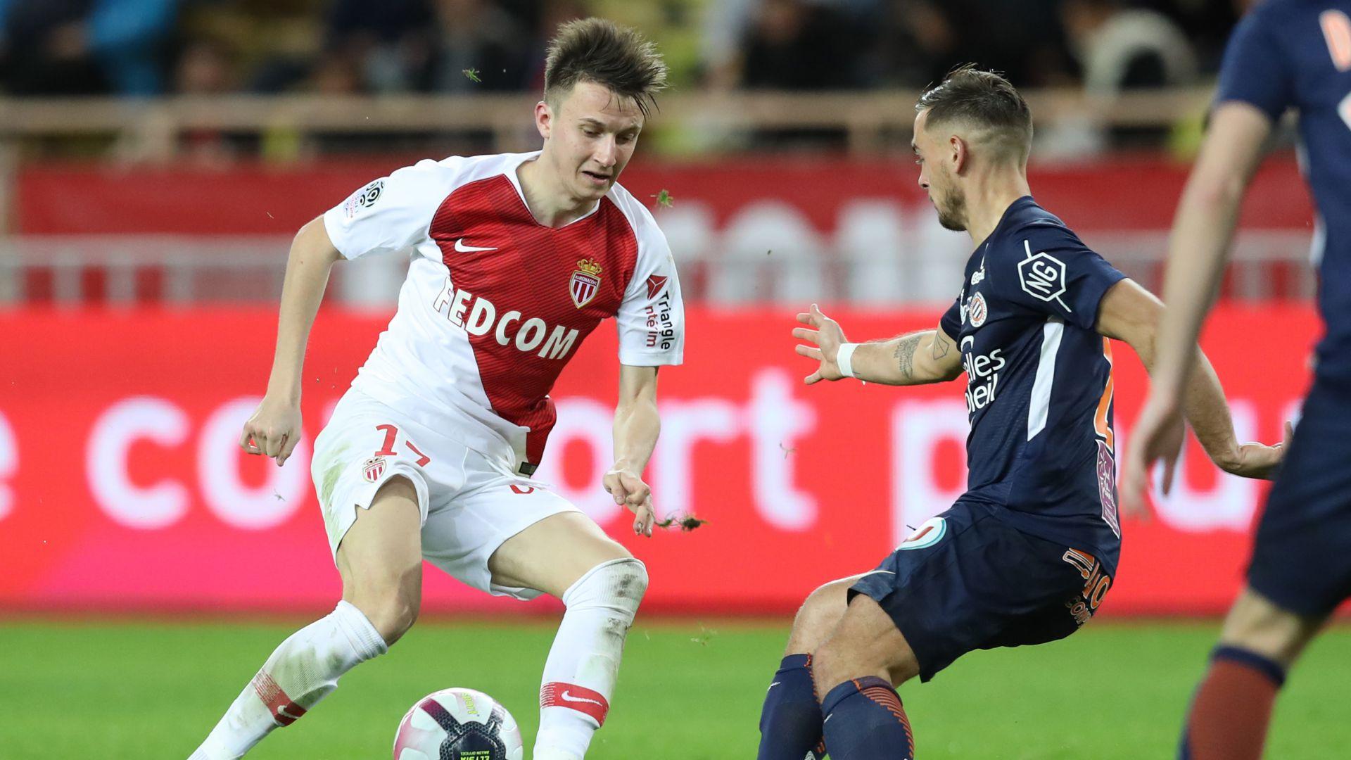 Aleksandr Golovin Monaco Montpellier Ligue 1