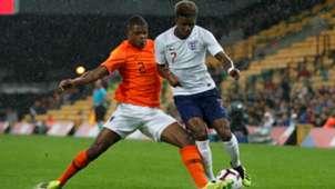 Denzel Dumfries, Jong Engeland - Jong Oranje 09062018
