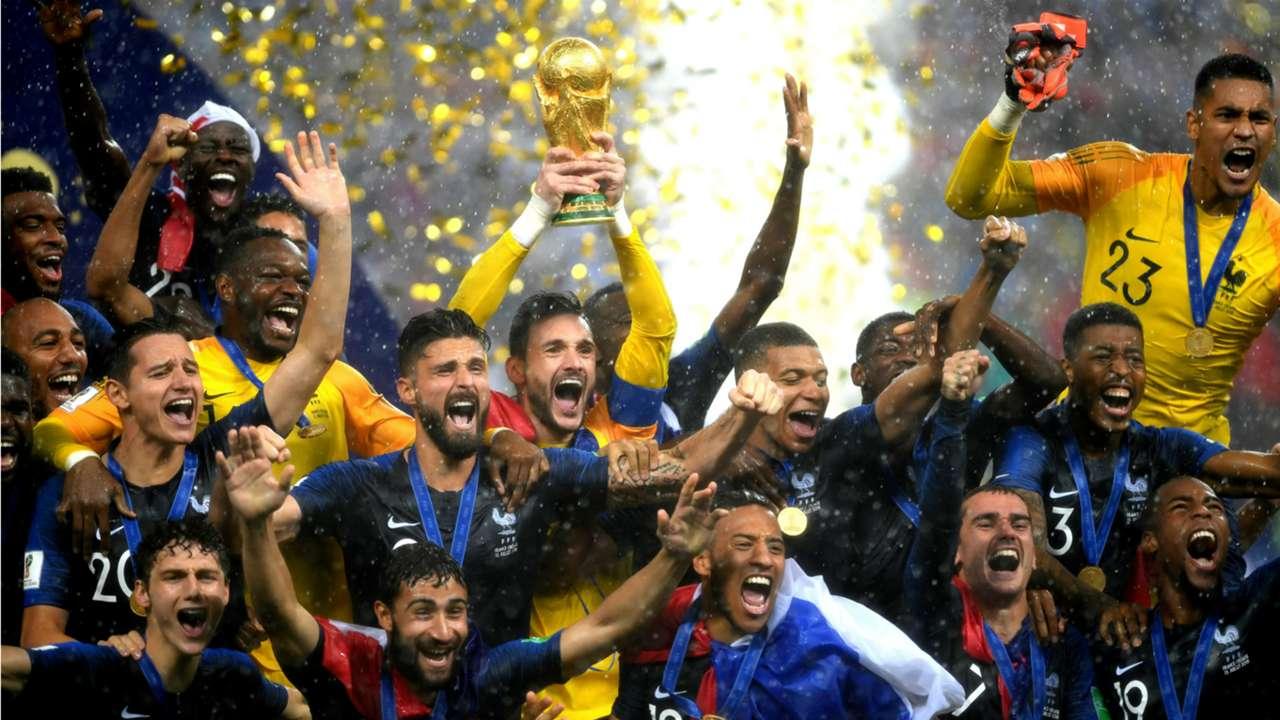 Hugo Lloris France WC 2018 final