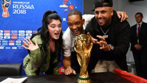 Era Istrefi, Will Smith, Nicky Jam World Cup 2018