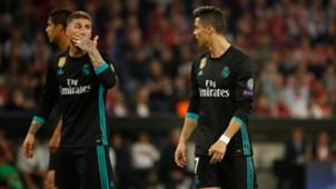 Sergio Ramos Cristiano Ronaldo Bayern Munich Real Madrid UCL 25042018
