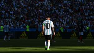 Lionel Messi Argentina France Russia 2018 World Cup