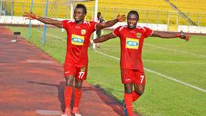Fredrick Boateng and Obed Owusu of Kotoko