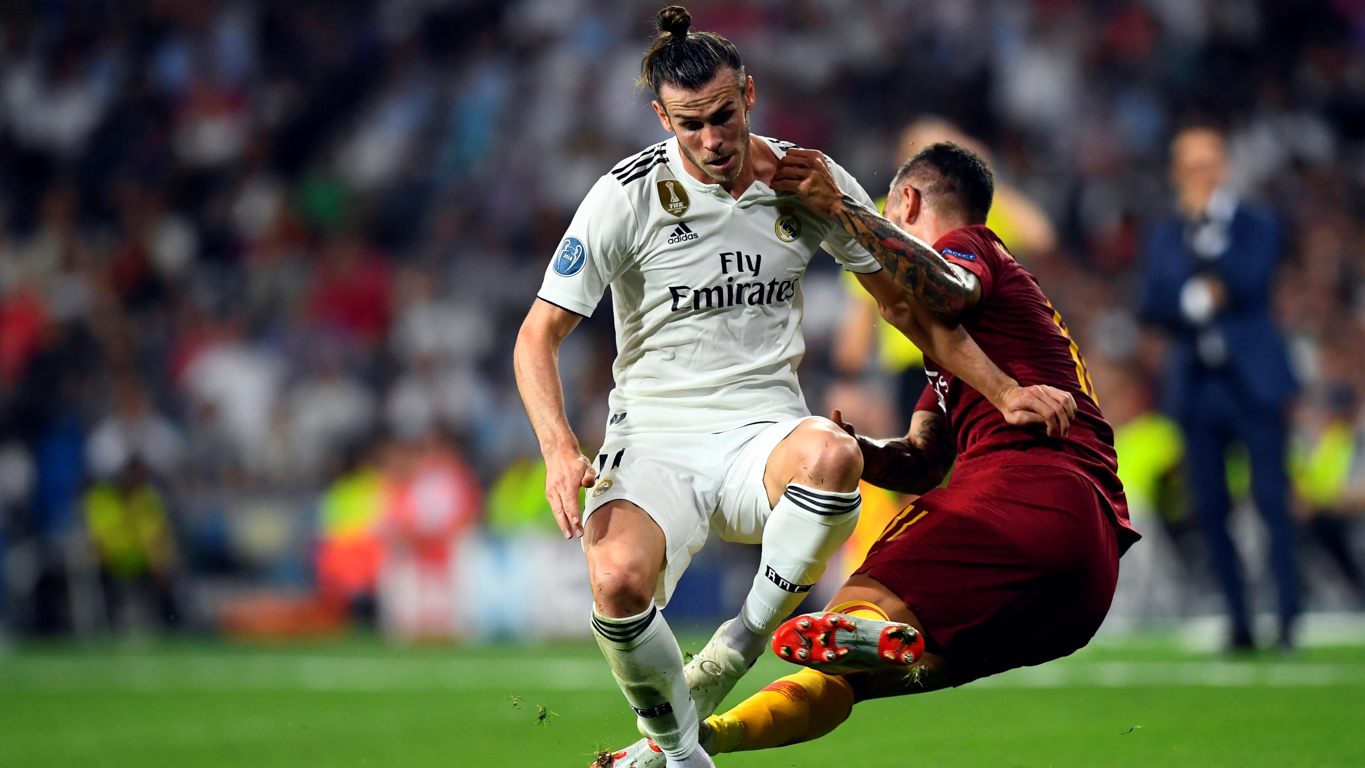 Gareth Bale Kolarov Real Madrid Roma