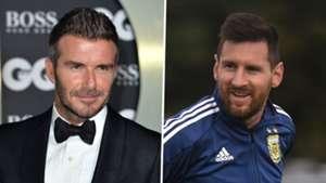 No contact between Messi & Beckham's Inter Miami