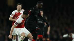 Mbaye Niang Arsenal Rennes UEFA Europa League 14032019
