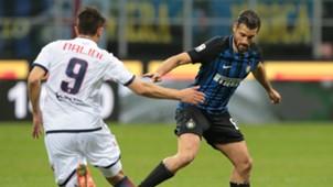 Antonio Candreva Andrea Nalini Inter Crotone Serie A 02032018