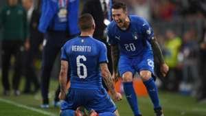 Marco Verratti Federico Bernardeschi Italy Bosnia Euro 2020