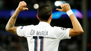 Angel Di Maria PSG Real Madrid UEFA Champions League 18092019