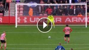 VIDEO PLAY Sergio Romero Southampton Manchester United 17052017