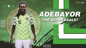 Emmanuel Adebayor the Super Eagle