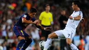 Alexis Sánchez Cristiano Ronaldo Barcelona Real Madrid 230812