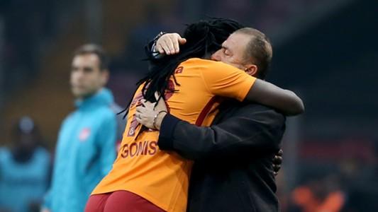 Bafetimbi Gomis Fatih Terim Galatasaray