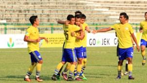 Selebrasi I Gusti Rustiawan - Persegres Gresik United
