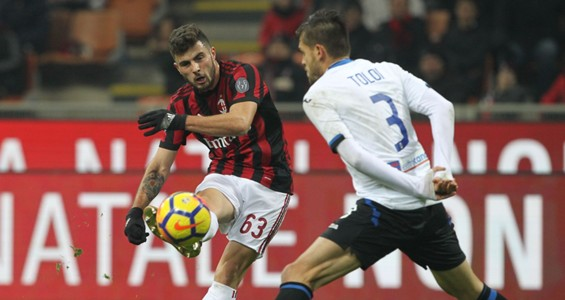 Patrick Cutrone Milan Atalanta Serie A