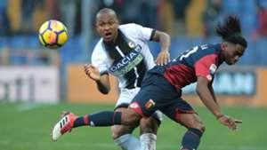 Stephane Omeonga Samir Genoa Udinese Serie A