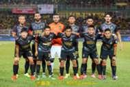 Sarawak first eleven against Kedah 27/1/2017