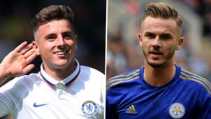 Mason Mount James Maddison Chelsea Leicester