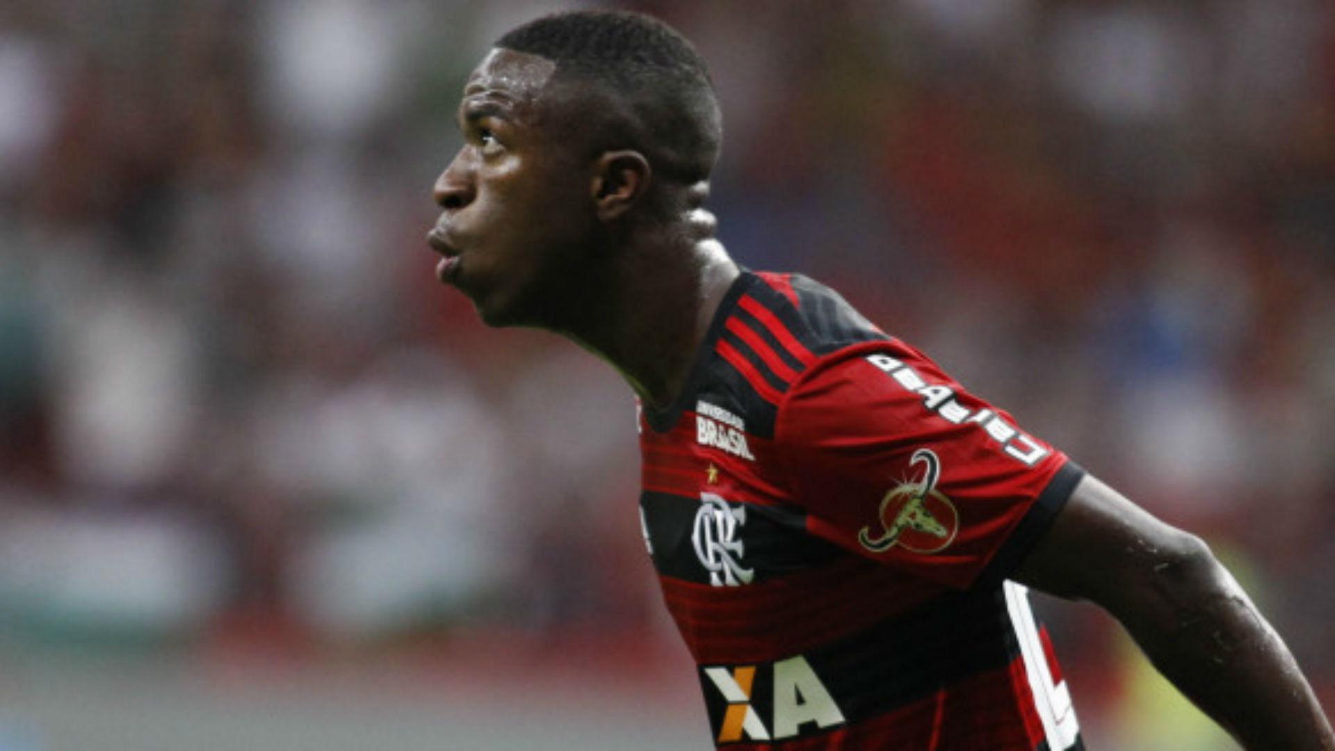 Vinicius Junior Flamengo Fluminense Brasileirão 07 06 2018