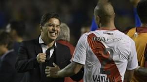 Boca Juniors River Plate Jonatan Maidana Marcelo Gallardo Primera Division 14052017