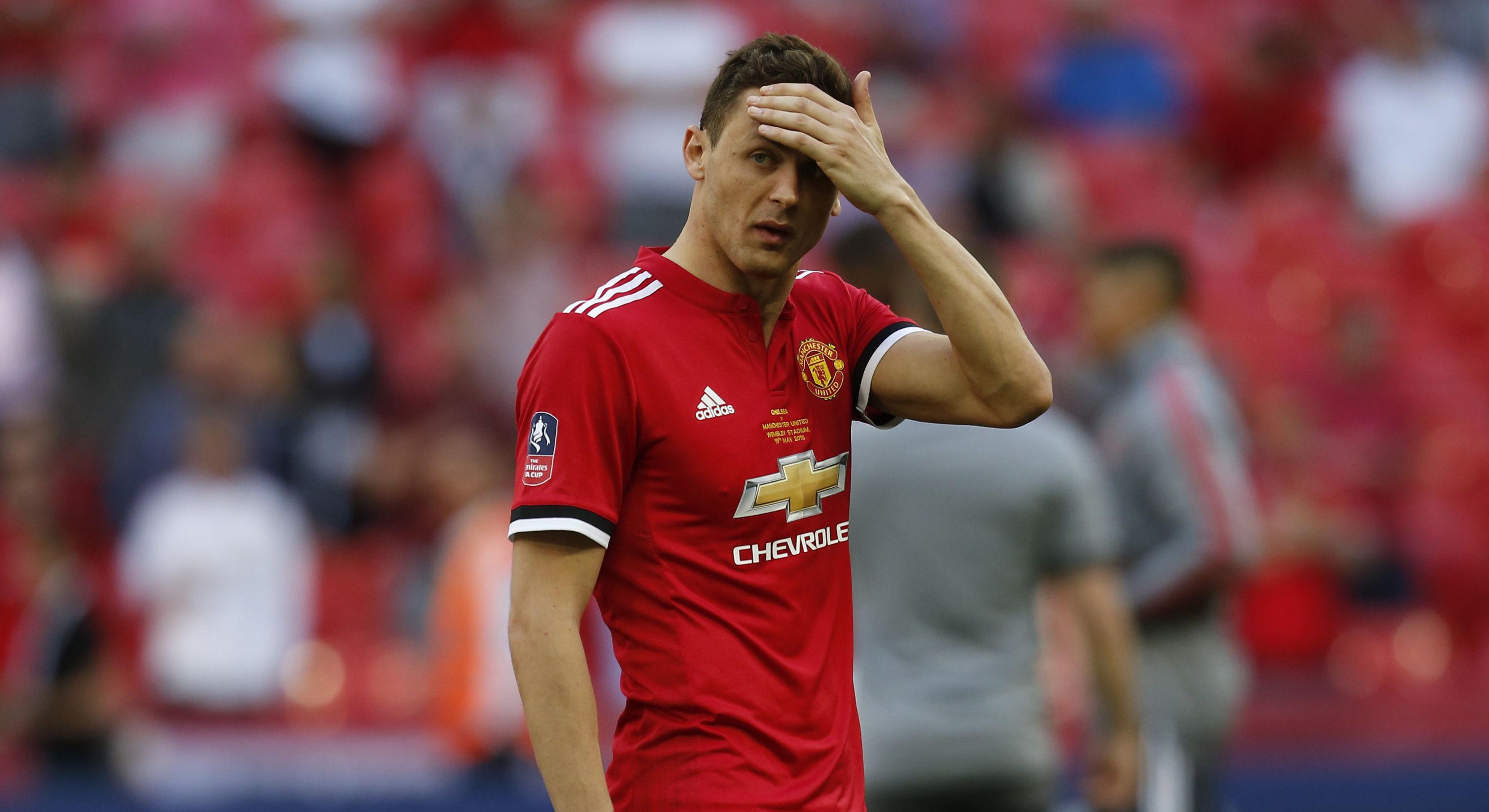 Nemanja Matic Manchester United Chelsea FA Cup