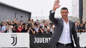 Cristiano Ronaldo Juventus apresentação exames médicos 16 07 18