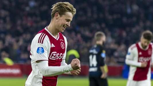 Frenkie de Jong Ajax Eredivisie 11032018