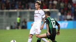 Lucas Biglia Stefano Sensi Sassuolo Milan