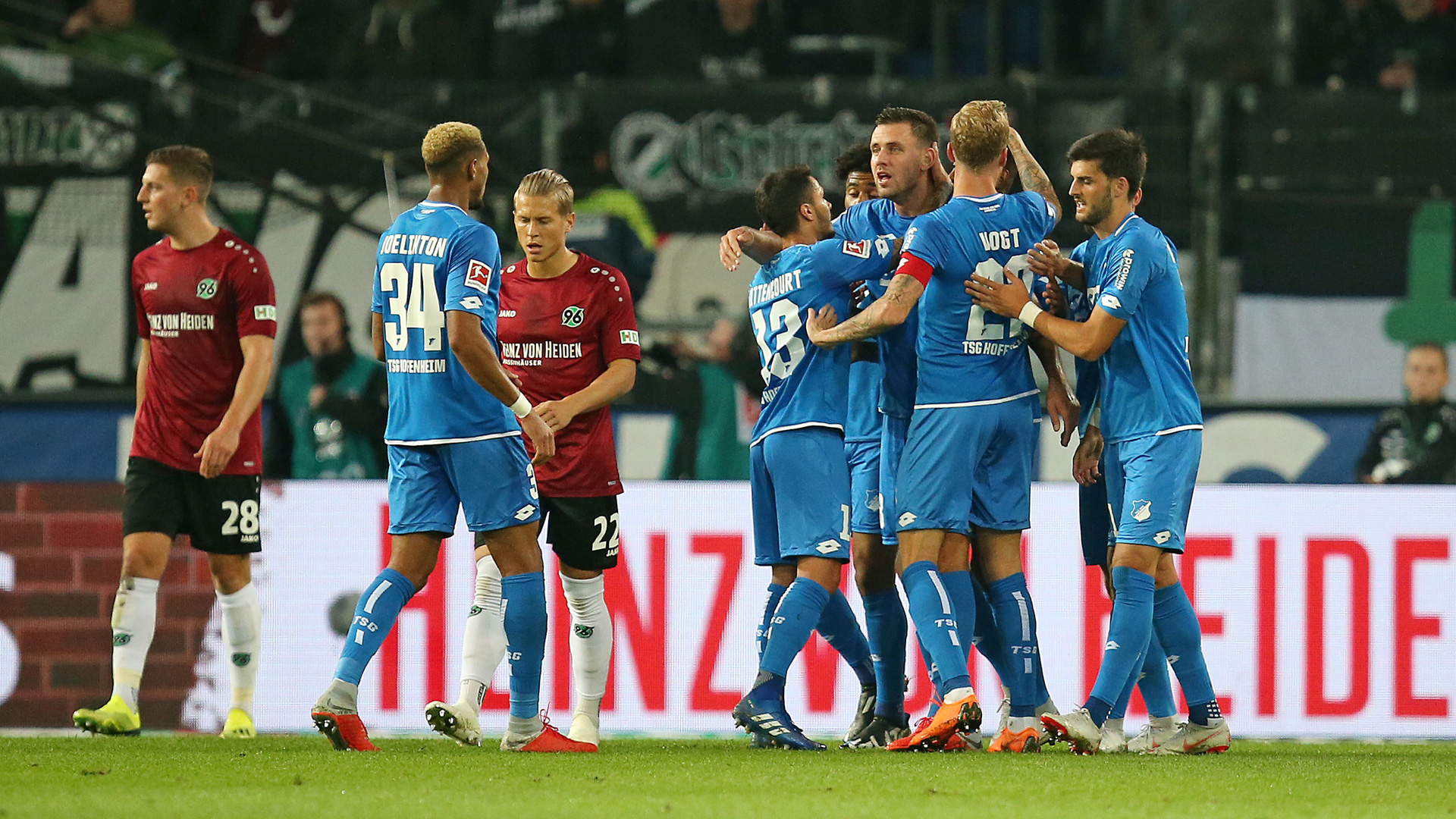 Hannover Hoffenheim Bundesliga