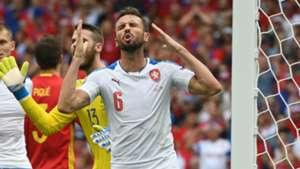 Tomas Sivok Spain Czech Republic Euro 2016