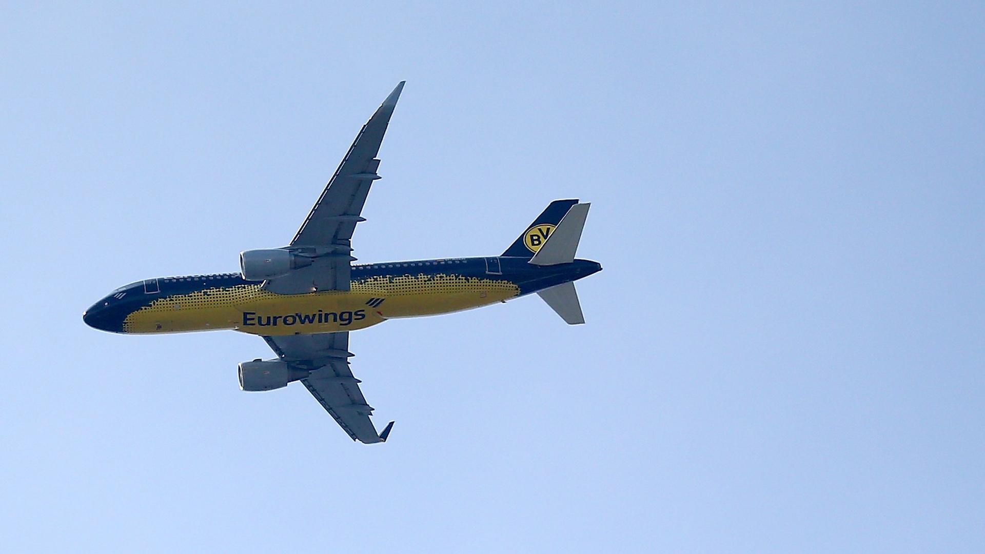 Borussia Dortmund Flugzeug 28052017