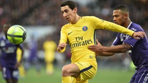 Angel Di Maria Toulouse PSG Ligue 1 100220