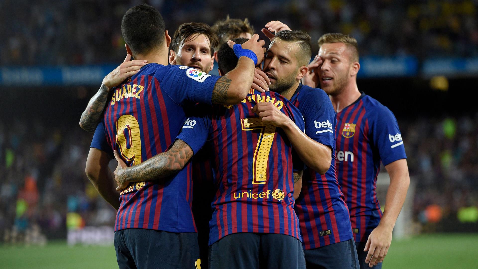 FC Barcelona Team 2018