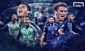 GFX France - Portugal | Prancis - Portugal | Final Euro 2016