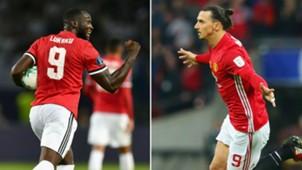 Romelu Lukaku Zlatan Ibrahimovic Manchester United