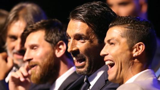 Buffon Ronaldo Messi