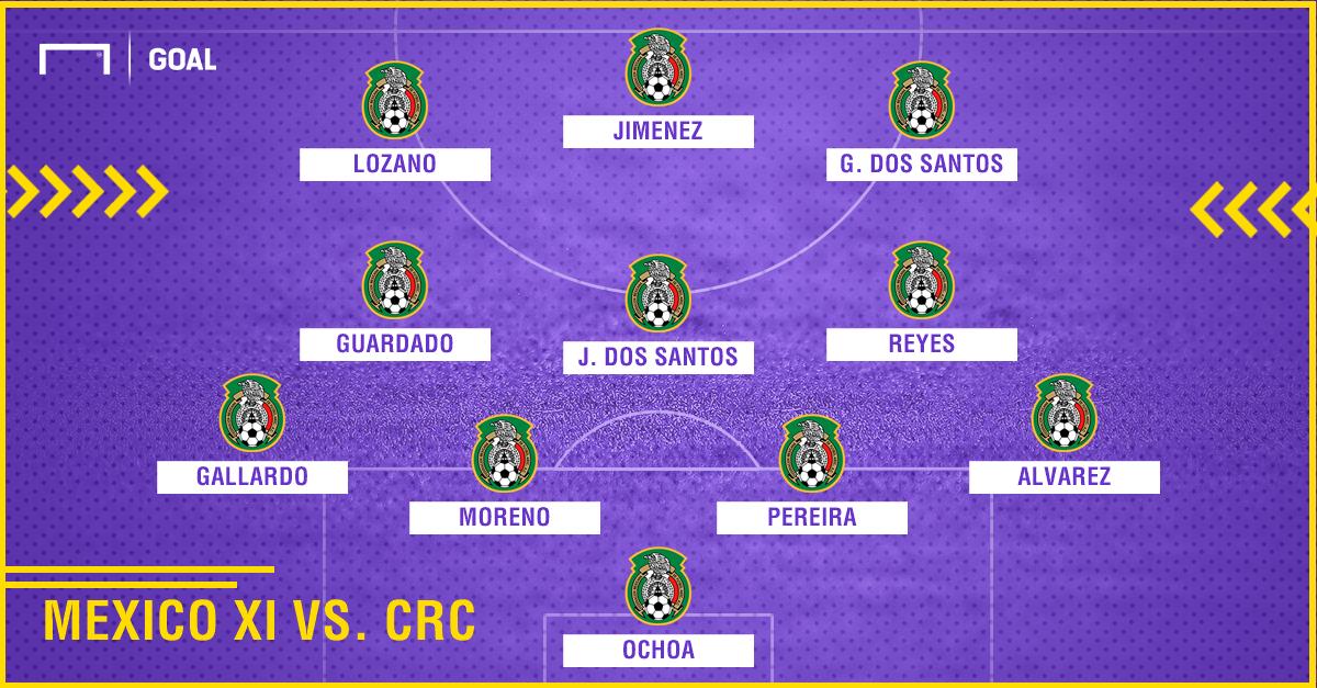 GFX Mexico vs. Costa Rica