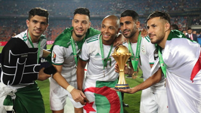 2019 AFCON Final Algeria