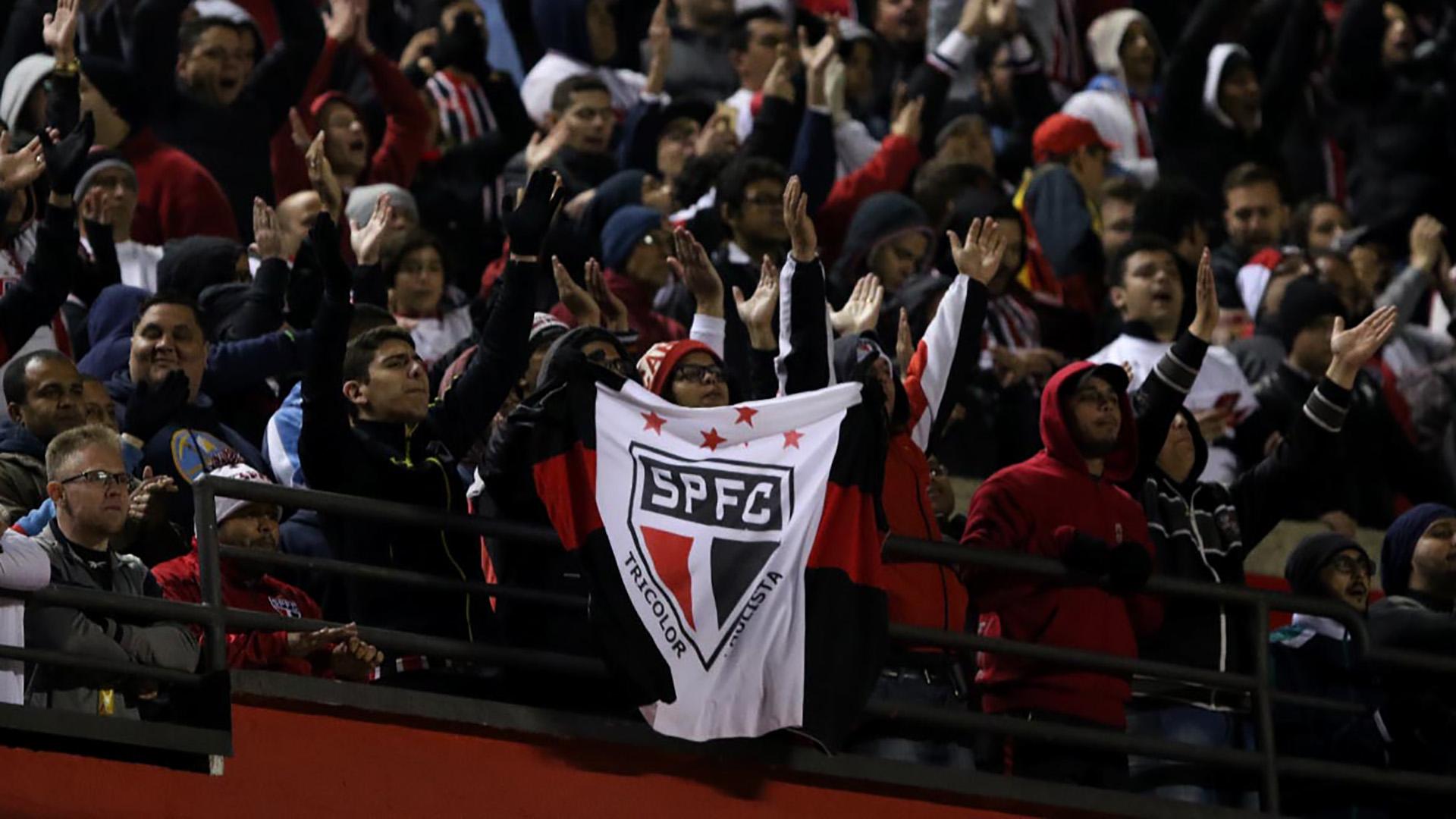 Torcida Sao Paulo Brasileirao Serie A 19072017